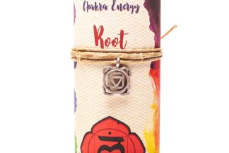 Guides and Angels Chakra Candle Detail