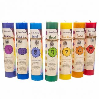Guides and Angels Chakra Candles Group