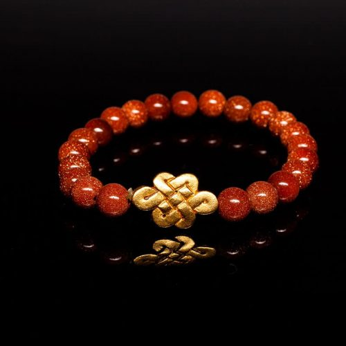 Guides and Angels Energy Bracelet Goldstone
