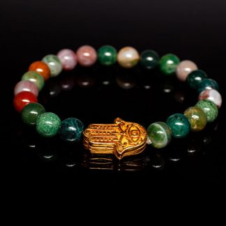 Guides and Angels Energy Bracelet Indian Agate