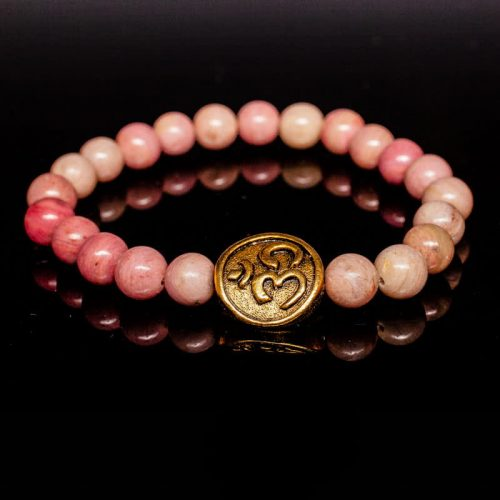 Guides and Angels Energy Bracelet Rhodonite