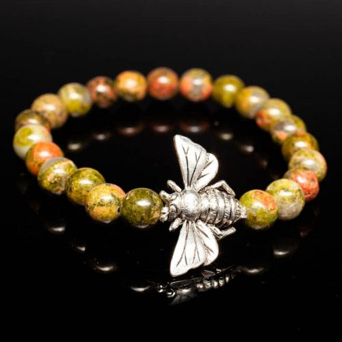 Guides and Angels Energy Bracelet Unakite