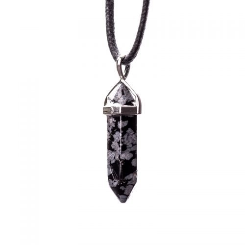 Guides and Angels Energy Crystals-Snowflake Obsidian