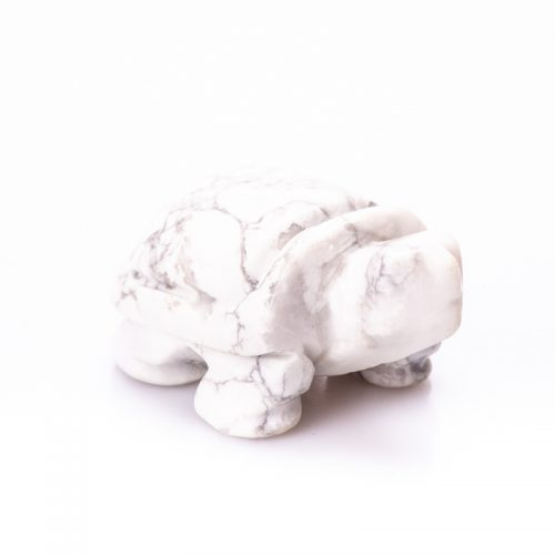 Guides and Angels Turtle White Howlite