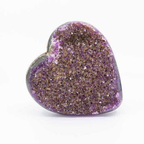 Guides and Angels heart shaped amethyst