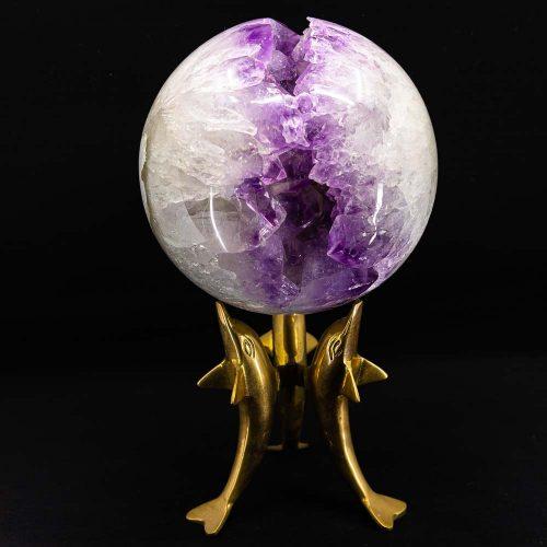 Natural Amethyst Sphere Geode