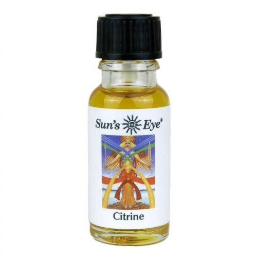 Guides and Angels Citrine Oil