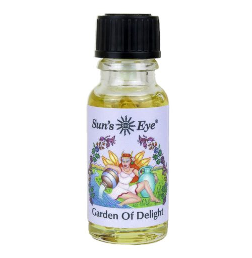 Guides and Angels Garden of Delight Oil