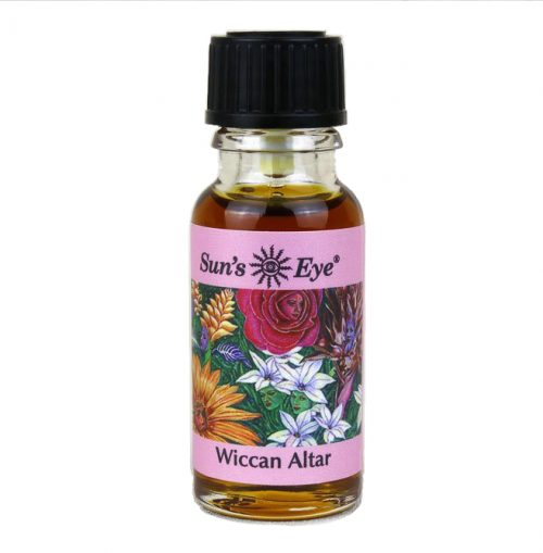 Guides and Angels Wiccan Alter Oil